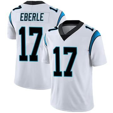 Men's Nike Carolina Panthers Dominik Eberle White Vapor Untouchable Jersey - Limited
