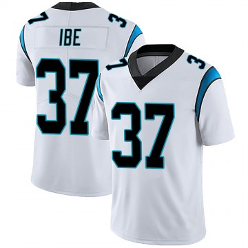Men's Nike Carolina Panthers J.T. Ibe White Vapor Untouchable Jersey - Limited