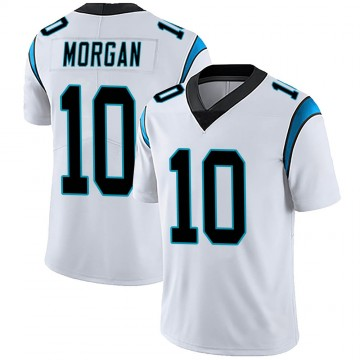 Men's Nike Carolina Panthers James Morgan White Vapor Untouchable Jersey - Limited