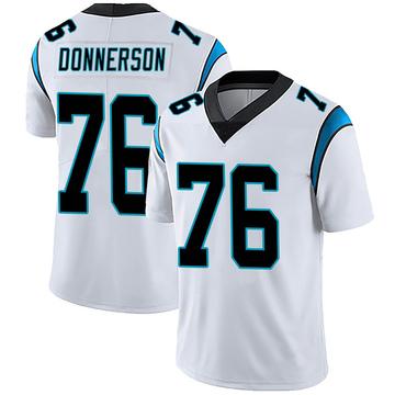 Men's Nike Carolina Panthers Kendall Donnerson White Vapor Untouchable Jersey - Limited