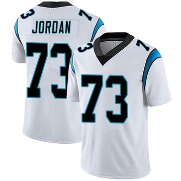 Men's Nike Carolina Panthers Michael Jordan White Vapor Untouchable Jersey - Limited