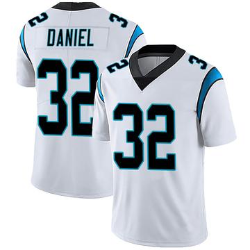 Men's Nike Carolina Panthers Mikey Daniel White Vapor Untouchable Jersey - Limited