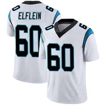 Men's Nike Carolina Panthers Pat Elflein White Vapor Untouchable Jersey - Limited