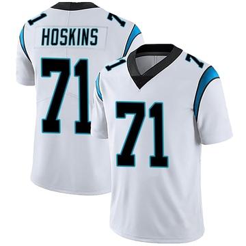 Men's Nike Carolina Panthers Phil Hoskins White Vapor Untouchable Jersey - Limited
