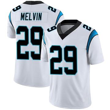 Men's Nike Carolina Panthers Rashaan Melvin White Vapor Untouchable Jersey - Limited