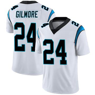 Men's Nike Carolina Panthers Stephon Gilmore White Vapor Untouchable Jersey - Limited