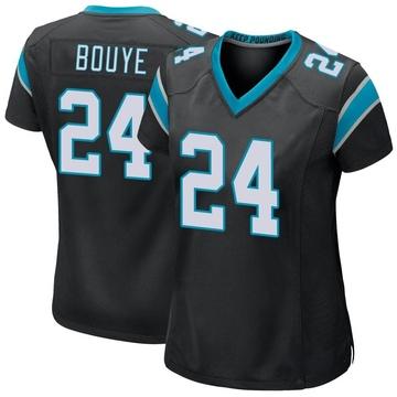 Women's Nike Carolina Panthers A.J. Bouye Black Team Color Jersey - Game