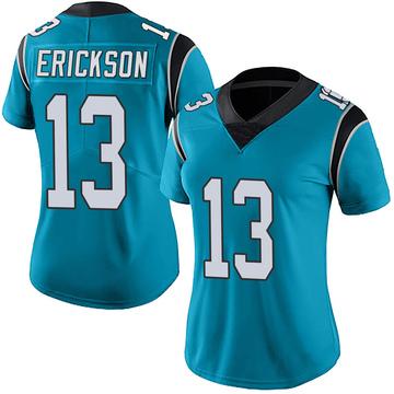 Women's Nike Carolina Panthers Alex Erickson Blue Alternate Vapor Untouchable Jersey - Limited