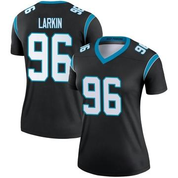 Women's Nike Carolina Panthers Austin Larkin Black Jersey - Legend