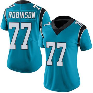 Women's Nike Carolina Panthers Austrian Robinson Blue Alternate Vapor Untouchable Jersey - Limited