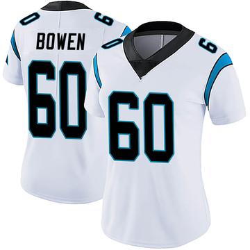 Women's Nike Carolina Panthers Branden Bowen White Vapor Untouchable Jersey - Limited