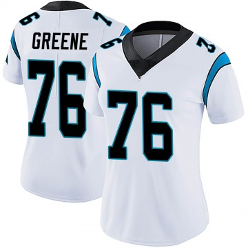 Women's Nike Carolina Panthers Brandon Greene White Vapor Untouchable Jersey - Limited