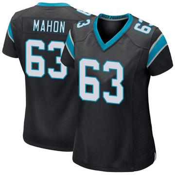 Women's Nike Carolina Panthers Brendan Mahon Black Team Color Jersey - Game