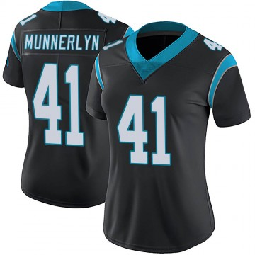 Women's Nike Carolina Panthers Captain Munnerlyn Black Team Color Vapor Untouchable Jersey - Limited