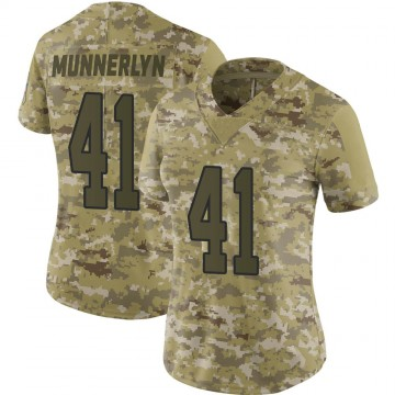 Women's Nike Carolina Panthers Captain Munnerlyn Camo 2018 Salute to Service Jersey - Limited