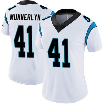 Women's Nike Carolina Panthers Captain Munnerlyn White Vapor Untouchable Jersey - Limited