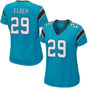 Women's Nike Carolina Panthers Corn Elder Blue Alternate Jersey - Game