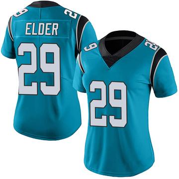 Women's Nike Carolina Panthers Corn Elder Blue Alternate Vapor Untouchable Jersey - Limited