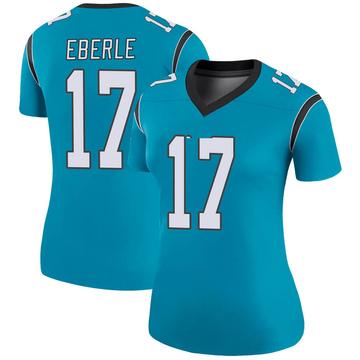 Women's Nike Carolina Panthers Dominik Eberle Blue Color Rush Jersey - Legend