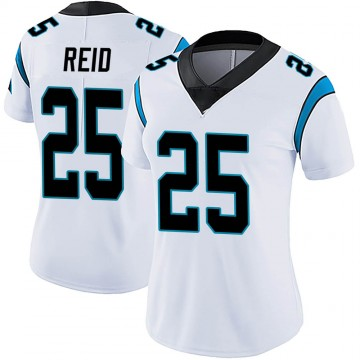 Women's Nike Carolina Panthers Eric Reid White Vapor Untouchable Jersey - Limited