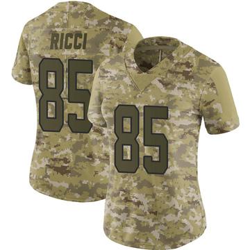 Women's Nike Carolina Panthers Giovanni Ricci Camo 2018 Salute to Service Jersey - Limited