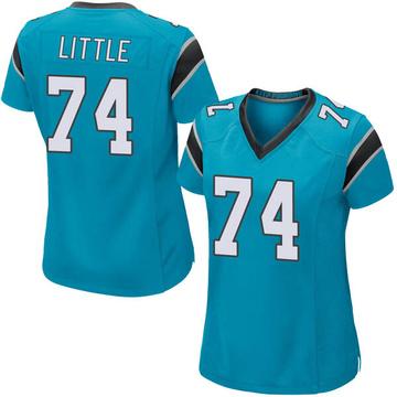 Women's Nike Carolina Panthers Greg Little Blue Alternate Jersey - Game