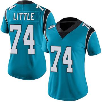 Women's Nike Carolina Panthers Greg Little Blue Alternate Vapor Untouchable Jersey - Limited