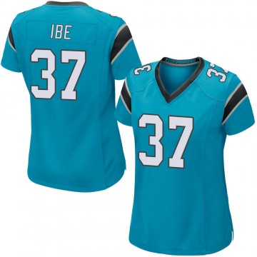 Women's Nike Carolina Panthers J.T. Ibe Blue Alternate Jersey - Game