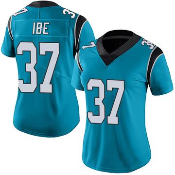 Women's Nike Carolina Panthers J.T. Ibe Blue Alternate Vapor Untouchable Jersey - Limited