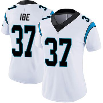 Women's Nike Carolina Panthers J.T. Ibe White Vapor Untouchable Jersey - Limited