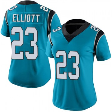 Women's Nike Carolina Panthers Javien Elliott Blue Alternate Vapor Untouchable Jersey - Limited