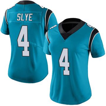 Women's Nike Carolina Panthers Joey Slye Blue Alternate Vapor Untouchable Jersey - Limited