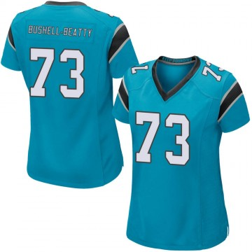 Women's Nike Carolina Panthers Juwann Bushell-Beatty Blue Alternate Jersey - Game