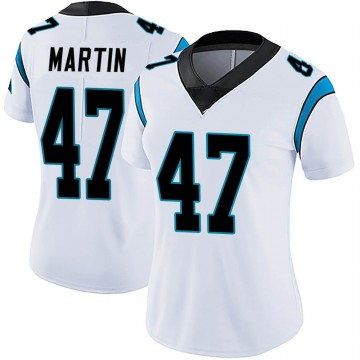 Women's Nike Carolina Panthers Kamal Martin White Vapor Untouchable Jersey - Limited