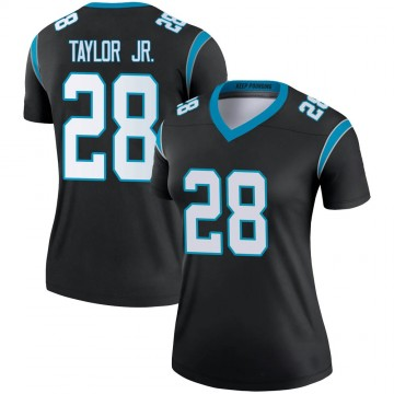 Women's Nike Carolina Panthers Keith Taylor Black Jersey - Legend