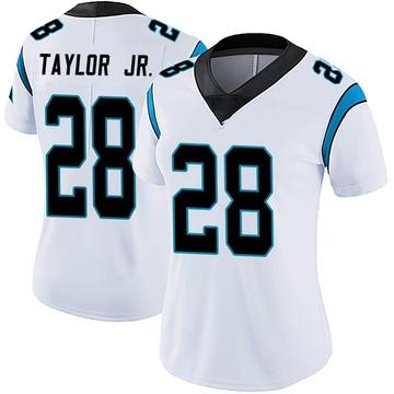 Women's Nike Carolina Panthers Keith Taylor White Vapor Untouchable Jersey - Limited