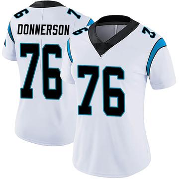 Women's Nike Carolina Panthers Kendall Donnerson White Vapor Untouchable Jersey - Limited