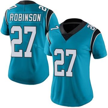 Women's Nike Carolina Panthers Kenny Robinson Blue Alternate Vapor Untouchable Jersey - Limited