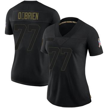 Women's Nike Carolina Panthers Kitt O'Brien Black 2020 Salute To Service Jersey - Limited