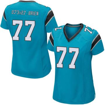 Women's Nike Carolina Panthers Kitt O'Brien Blue Alternate Jersey - Game
