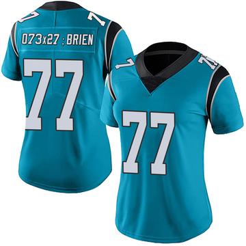 Women's Nike Carolina Panthers Kitt O'Brien Blue Alternate Vapor Untouchable Jersey - Limited