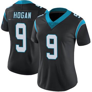 Women's Nike Carolina Panthers Krishawn Hogan Black Team Color Vapor Untouchable Jersey - Limited