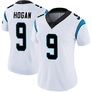 Women's Nike Carolina Panthers Krishawn Hogan White Vapor Untouchable Jersey - Limited