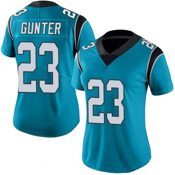 Women's Nike Carolina Panthers LaDarius Gunter Blue Alternate Vapor Untouchable Jersey - Limited