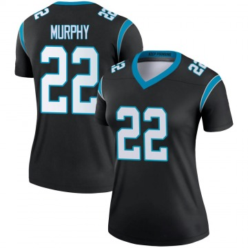 Women's Nike Carolina Panthers Marcus Murphy Black Jersey - Legend