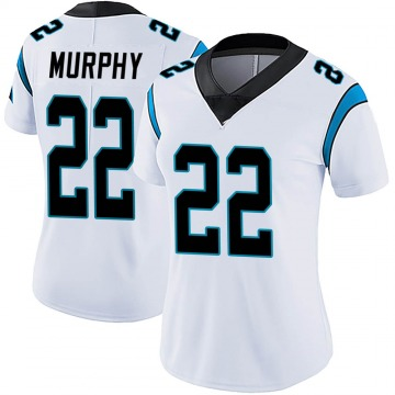 Women's Nike Carolina Panthers Marcus Murphy White Vapor Untouchable Jersey - Limited