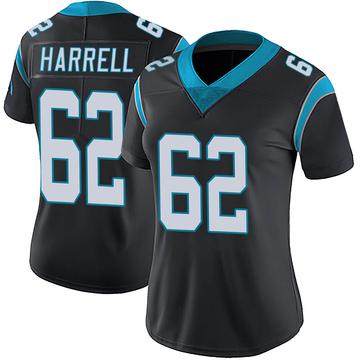 Women's Nike Carolina Panthers Marquel Harrell Black Team Color Vapor Untouchable Jersey - Limited