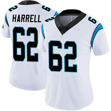 Women's Nike Carolina Panthers Marquel Harrell White Vapor Untouchable Jersey - Limited