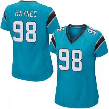 Women's Nike Carolina Panthers Marquis Haynes Blue Alternate Jersey - Game