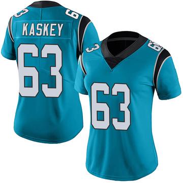 Women's Nike Carolina Panthers Matt Kaskey Blue Alternate Vapor Untouchable Jersey - Limited